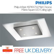 Philips InStyle Matrix Ceiling Light Matt Chrome (integrated 4 X 2 Watts LED