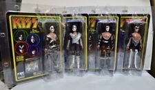 "KISS RETRO Complete Set Figures Toy Company 8"" Figure with Album Cover Series 1"