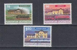 Chemin de Fer - Locomotives Liechtenstein 1155 - 57 (MNH)