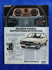 Ford Fiesta S - Werbeanzeige Reklame Advertisement 1976 __ (615