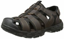 Skechers USA Mens Fisherman Sandal Chocolate 8 M US