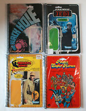 Vintage Kenner Star Wars Raiders Mego Pocket Heroes Black Hole Notebook lot