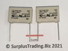 Iskra KNB1530 0.068µF 275Vac X2 Rfi Mkp Entstörung Kondensator (Packung Mit 2)