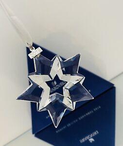 Swarovski 5427990 Ornament 2019 Weihnachtsstern groß Stern Neu & OVP