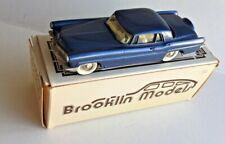 Brooklin BRK11 1956 Lincoln Continental MkII Coupe Metallic Blue Early Box 1/43