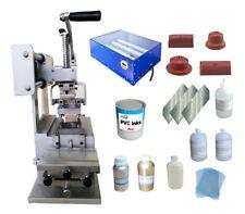Techtongda Full Set Pad Printing Kit Single Color Pad Printer Amp Exposure Unit
