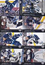 2015-16 Upper Deck Winnipeg Jets Complete Series 1 & 2 Team Set 14 Cards