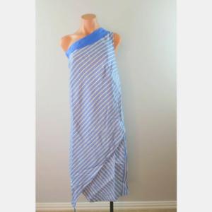 Glamour X Lane Bryant One Shoulder Asymmetrical Dress Sundress sz 26