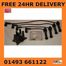 Ford Mondeo MK3 1.8 2.0 00-04 Ignition Leads Coil Pack NGK Platinum Spark Plugs