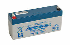 POWERSONIC 6V 3.4AH NEW BATTERY PS630