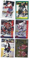 Bryan Berard Signed Hockey Card Detroit Jr 1995 Classic