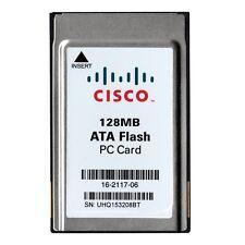 Cisco 128MB ATA Flash PC Card PCMCIA Memory Card