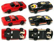 2 1993 ARTIN USA 1/64th Electric HO Slot Car Chevy Corvette Pr RarelySeenUnused!