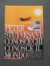 [GCG] H304 - Advertising Pubblicità -1980-  PETER STUYVESANT SIGARETTE
