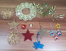 Viele verschiedene Weihnachtsdeko Engel Sterne etc.