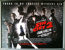 Cinema Poster: SIN CITY A DAME TO KILL FOR 2014 (Final Quad) Mickey Rourke