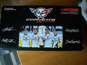Action, 2001 Corvette C5R, Dale Earnhardt, 1:18 Scale, Raced Version, New in Pkg