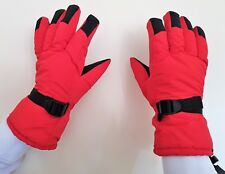TOP QUALITY  PADDED WINTER,SKI GLOVES.HELP TO KEEP YOUR HANDS WARM. RED  MEDIUM