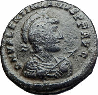 VALENTINIAN II on Ship with Victory Ancient 378AD Authentic Roman Coin i80007