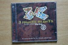 3 Minute Blunts Vol. 2  - Vincent Vango, Madd Phlavor, Native Sons CD (BOX C86)