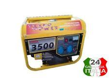 Gruppo Elettrogeno Generatore Di Corrente 3KW Motore 4 Tempi 15 Litri 6,5HP