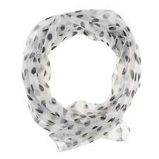 Sciarpe, foulard e scialli da donna a pois bianchi