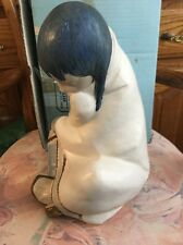 Lladro 2008 Eskimo Girl Gres! Retired! Mint Condition! Original Blue Box! L@K