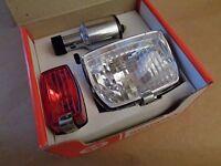 Vintage Schwinn SUPER SPORT Generator Light Set-BIKE ACCESSORY *NOS* 1970's-MIB
