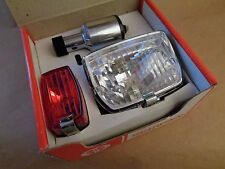 Schwinn SUPER SPORT Generator Light Set-BIKE ACCY * NOS * 1970's-Museum Quality