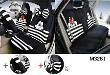 13pc/set new Plush Cartoon Mickey Mouse car covers universal car seat cover M326