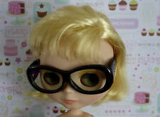 * WOW! BHC BLACK FRAME HIPSTER GLASSES * BLYTHE * PULLIP * NEW *