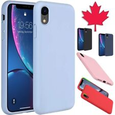 For iPhone 11 Pro Max XR X S 8 7 Plus SE Case Liquid Silicone Rubber Soft Cover