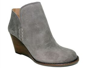 Lucky Brand Women's Yimme Booties Storm Gray Powell Size 7.5 M