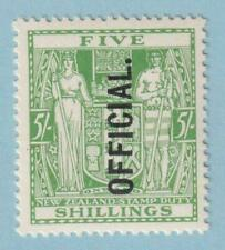 NEW ZEALAND O57 OFFICIAL  MINT NEVER HINGED OG ** NO FAULTS EXTRA FINE!