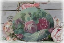 "~ Vintage ""ROSES..."" ~ Shabby Chic ~ Country Cottage style ~ Wall Decor Sign ~"