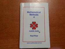 VCE Mathematical Methods Unit 4 Maths Secondary School Textbook Study Guide New
