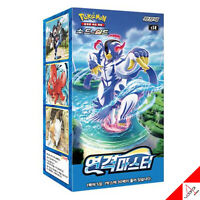 "Pokemon Card Game Sword & Shield ""Rapid Strike Master"" Booster Box - Korean Ver"