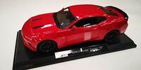 Maisto 1:18 Scale Chevrolet Camaro SS 2016 - Red - Diecast Model Car TOY