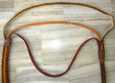 Vintage Old Rope And Leather Halter Full Size Horse Halter