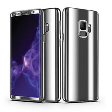360 Dgree Full Protection Plating Mirror Case Cover Samsung S9 S8 Plus S7 Edge
