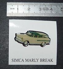PIN'S  SIMCA MARLY BREAK  EDITIONS ATLAS AUTOMOBILE AUTO