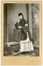 En souvenir du siège de Belfort, Richard Vacheron, 18 février 1906 Vintage silve