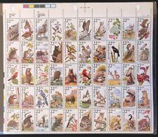 US Sheet 22¢ Stamps (50) NORTH AMERICAN WILDLIFE c 1987 MNH #2286-2335