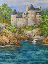 """""""Château de Costaérès"""" îlot Toure,face à Trégastel, Côte de Granit Rose,Bretagne"""