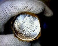 1880-o Blast White Unc Morgan Silver Dollar from a Original Roll Will Grade Out