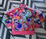 ADIDAS Originals Firebird Pink Floral Track Top Jacket Size 12-13Y Uk 6