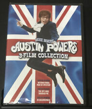 Austin Powers: 3-Film Collection (Dvd) Brand New Factory Sealed