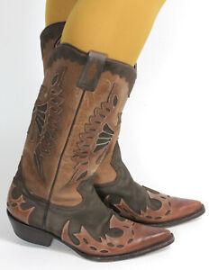 Westernstiefel Cowboystiefel Catalan Style Line Dance Leder Boots Buffalo 40