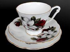 // Kaffeetasse 61 Teller Moss Rose v Kaffeegedeck 3tlg UT Royal Albert
