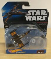 Hot Wheels star wars starships- Poe's X-wing Fighter rare Bnib Xmas gift